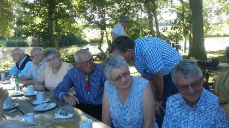 Torfkahnfahrt der Senioren-Union